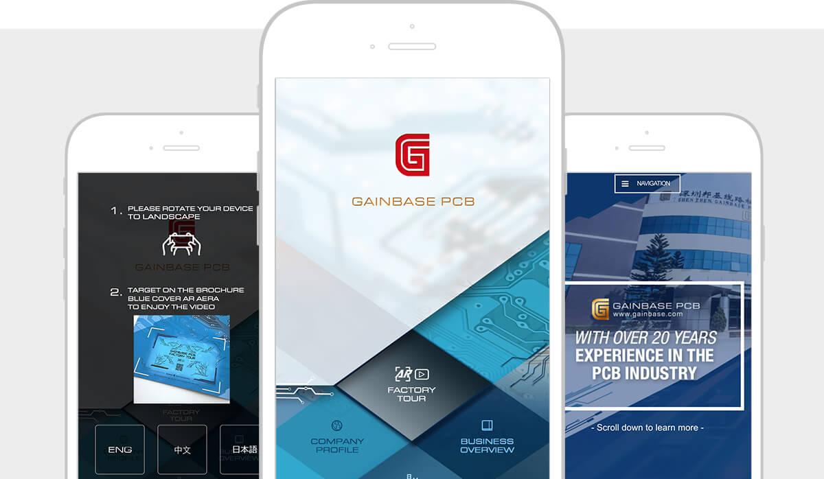 Gainbase PCB Mobile App