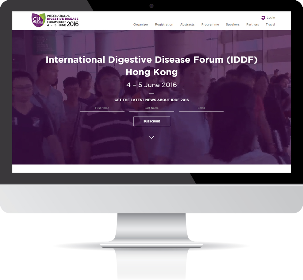 The International Digestive Disease Forum (IDDF) 2016 - Institute of Digestive Disease, CUHK