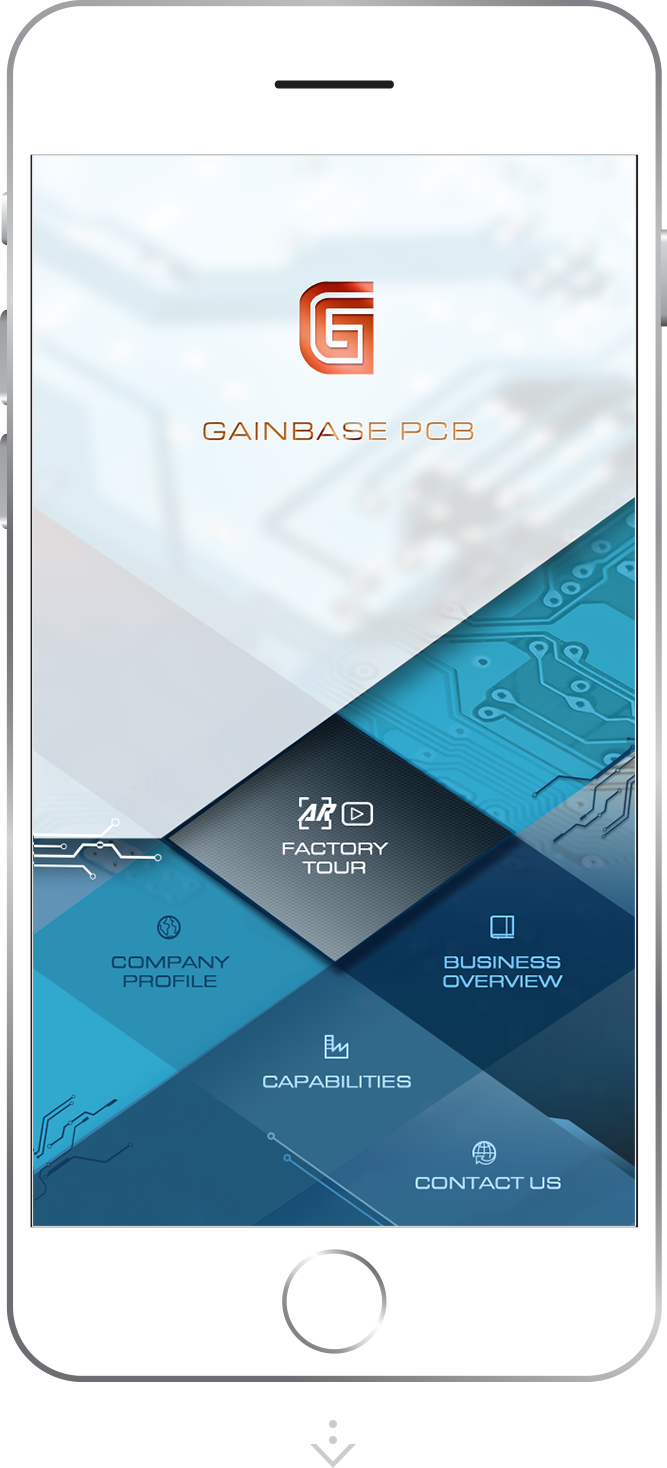 Gainbase PCB Mobile App