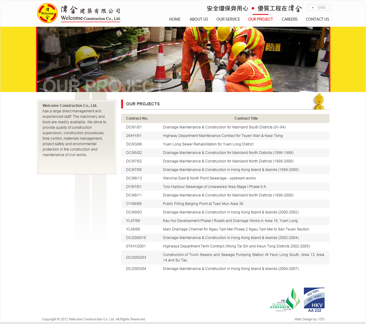 Welcome Construction Company Limited