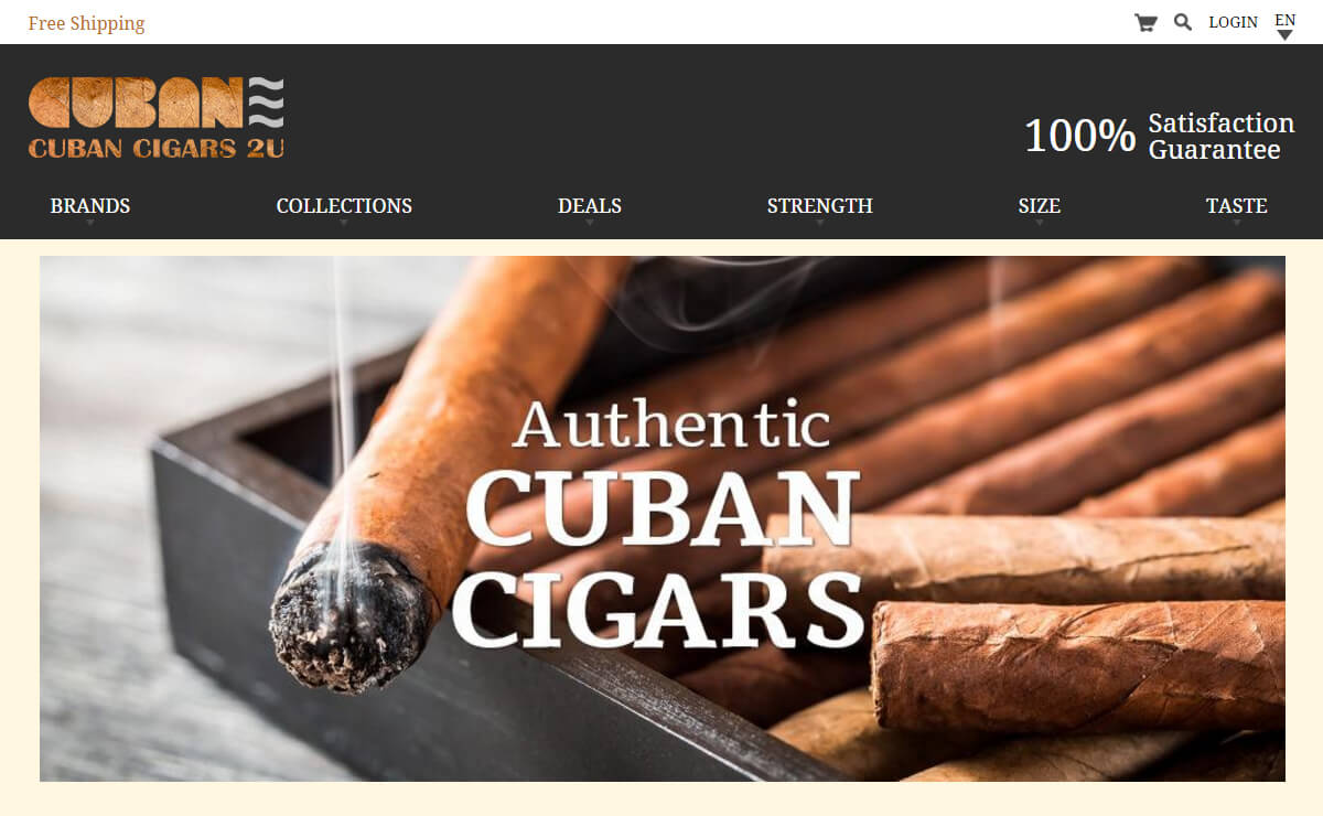 Cuban Cigars 2U