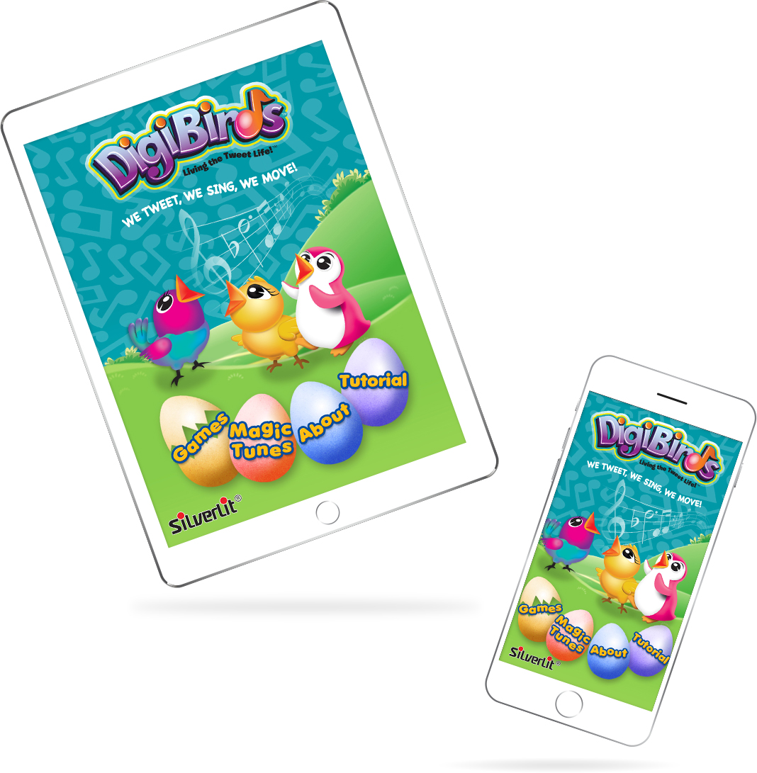 DigiBirds: Magic Tunes & Games By Silverlit Toys