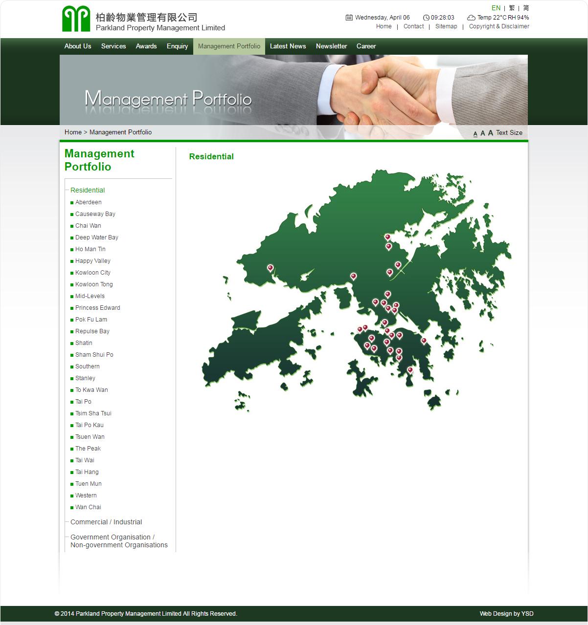 Parkland Property Management Limited