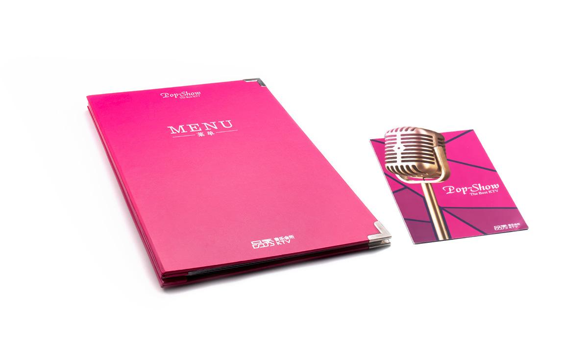 Pop Show KTV Menu and Catalog