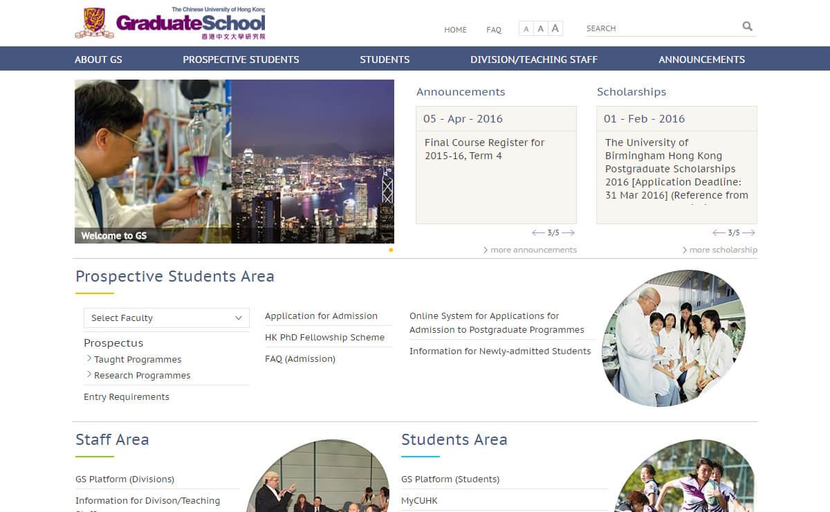 CUHK Graduate School
