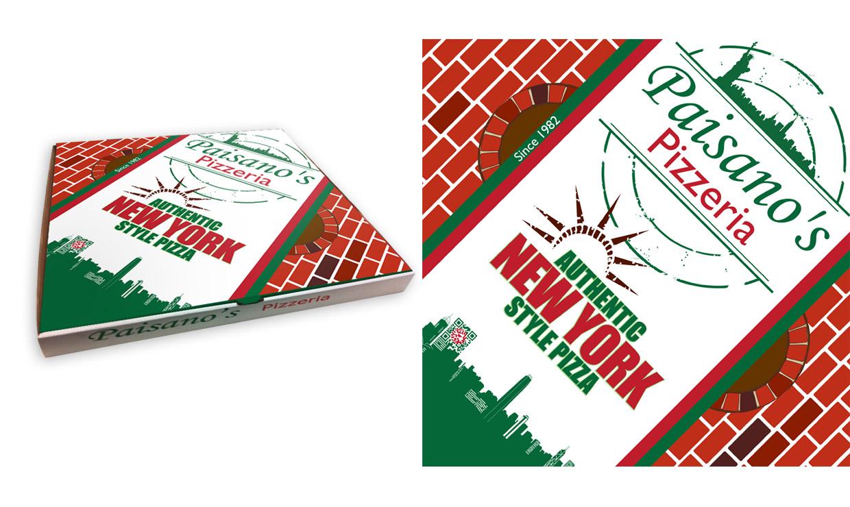 Paisanos Pizzeria printing