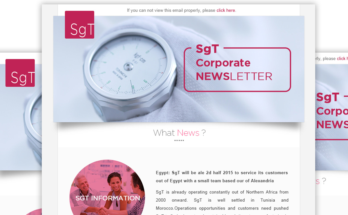 SgT Group Enewsletter