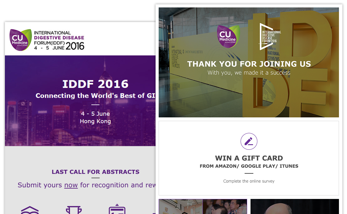 International Digestive Disease Forum (IDDF) Enewsletter, CUHK