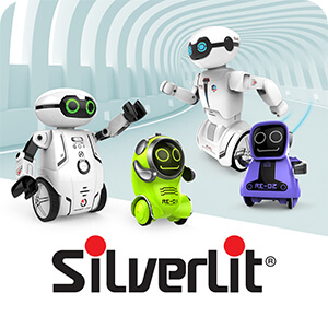 Silverlit Robot: POKIBOT, Maze Breaker, MacroBot