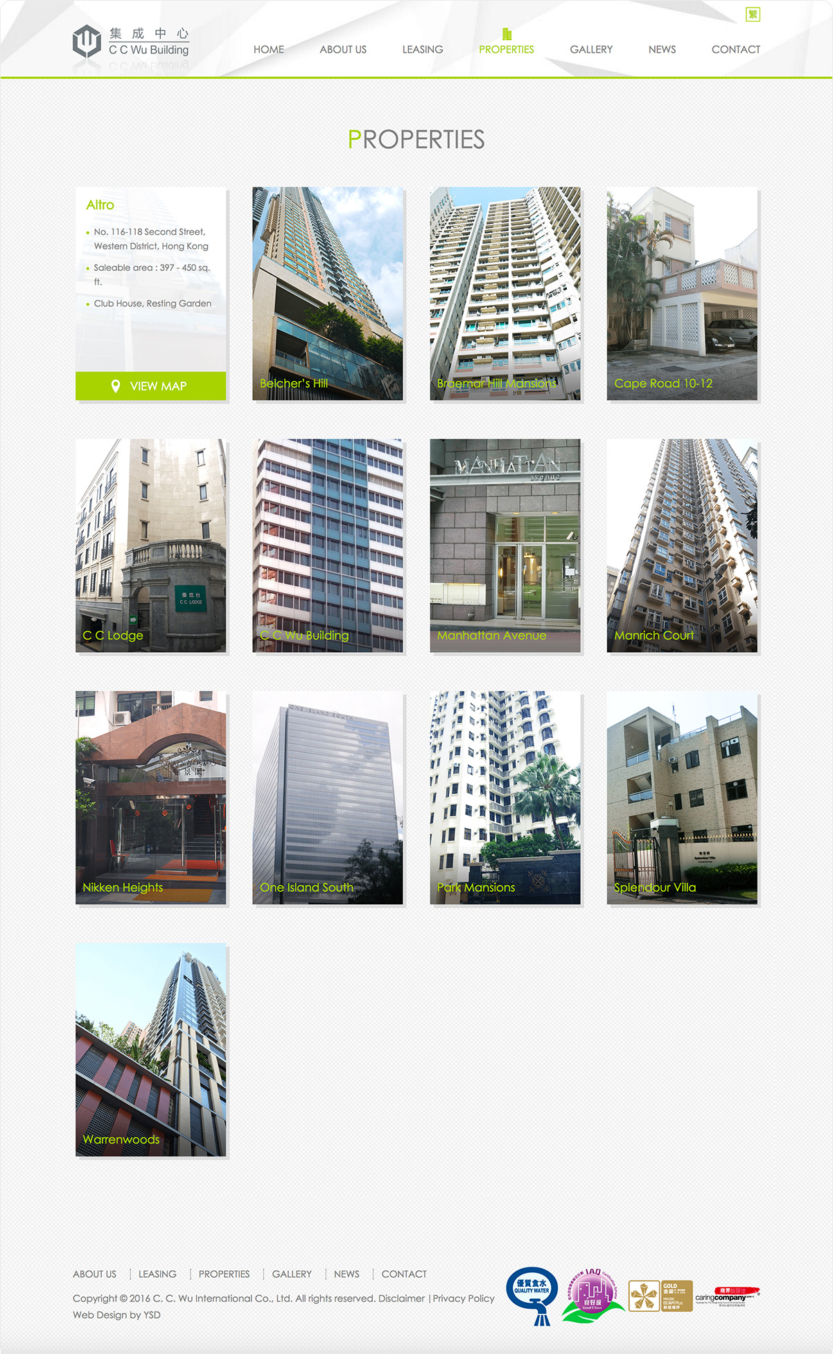 C. C. Wu International Co., Ltd.