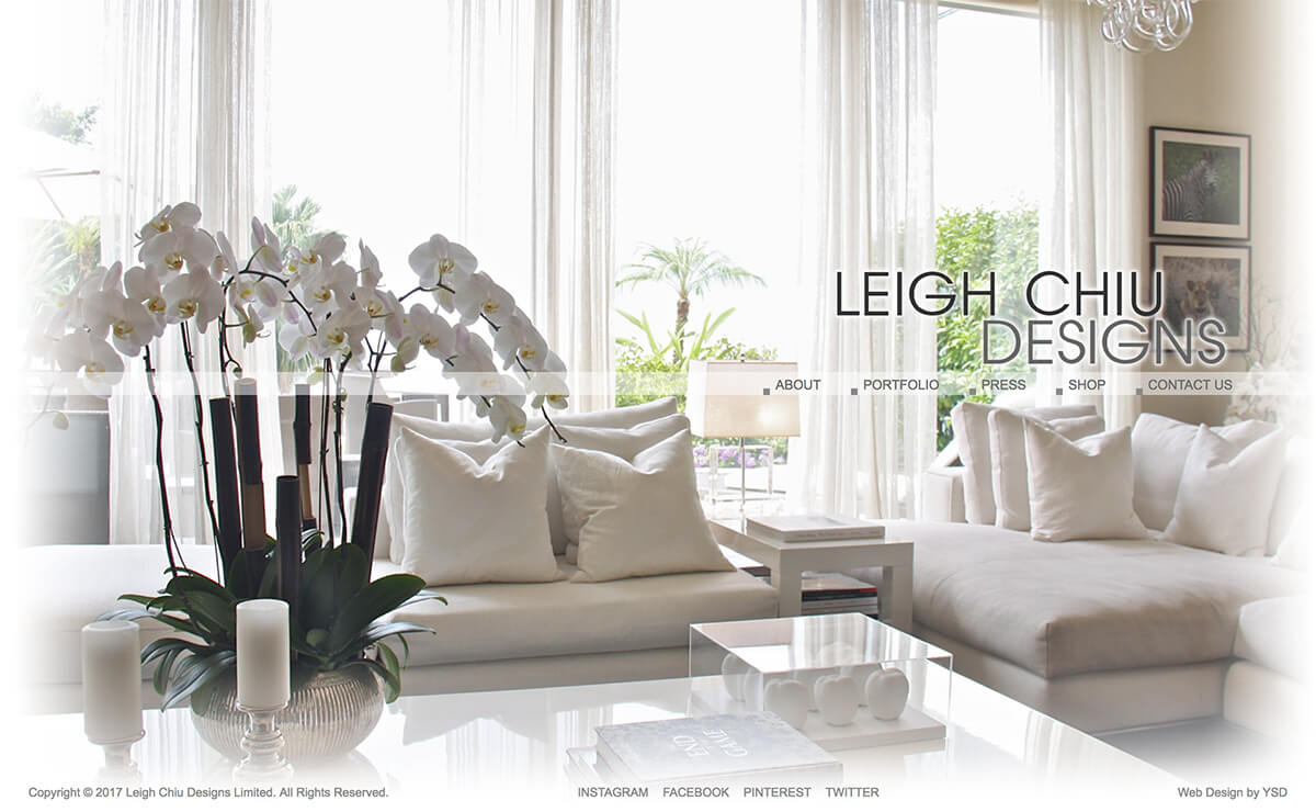 Leigh Chiu Designs website