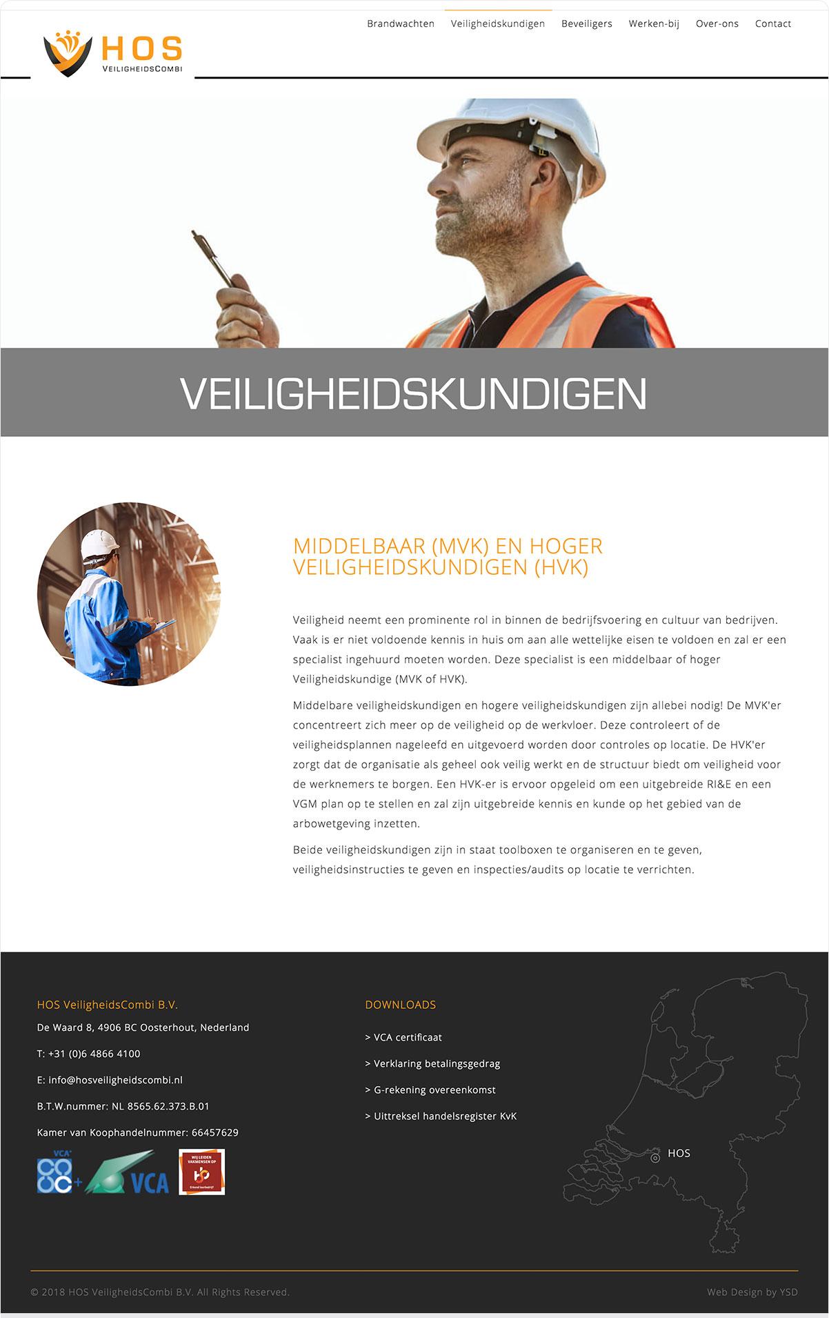 HOS VEILIGHEIDSCOMBI - Website