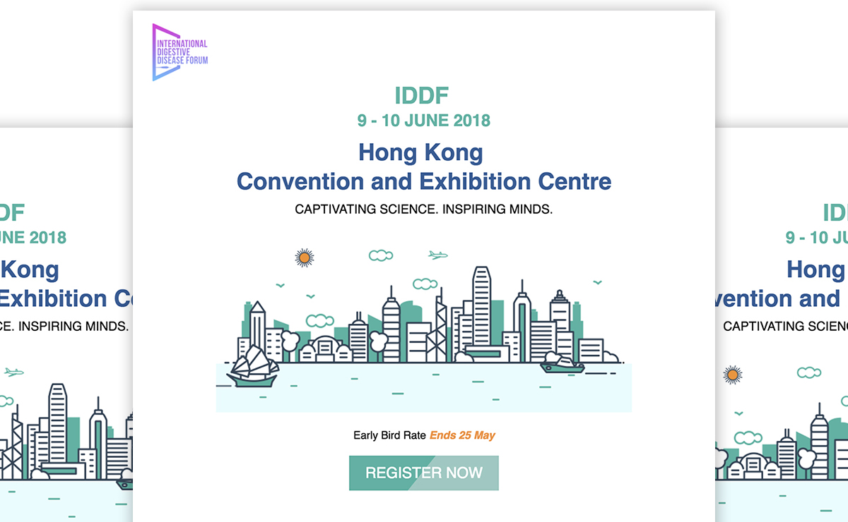 International Digestive Disease Forum (IDDF) Enewsletter 2018-June, CUHK
