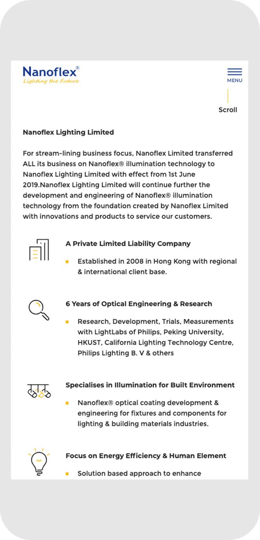 Nanoflex Lighting Ltd.