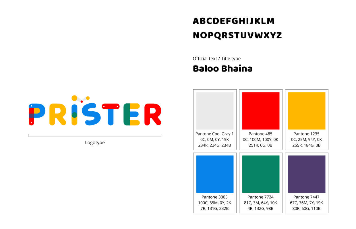Prister Corporation Limited (Branding)