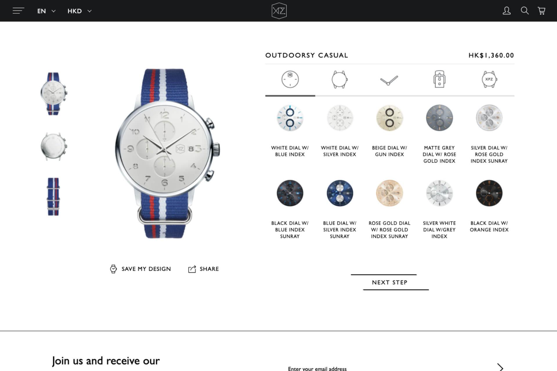 XPZ Watch