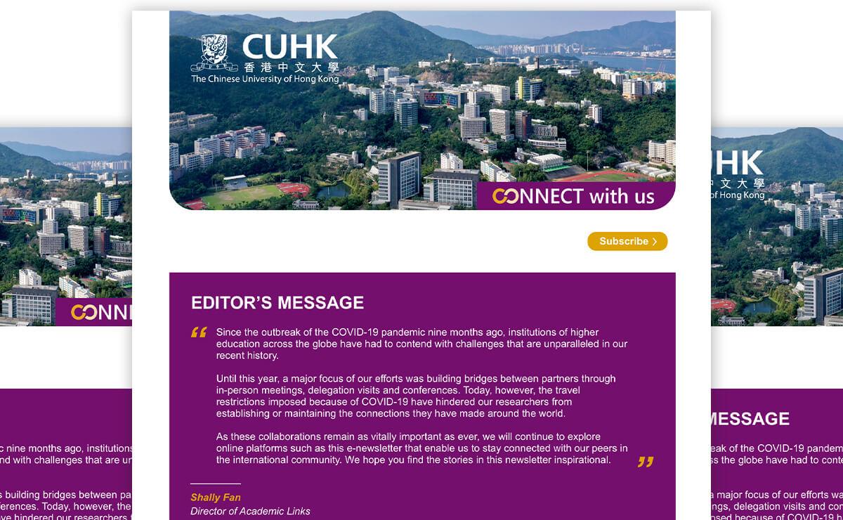 Office of Academic Links (OAL) Enewsletter 2020-Sep, CUHK