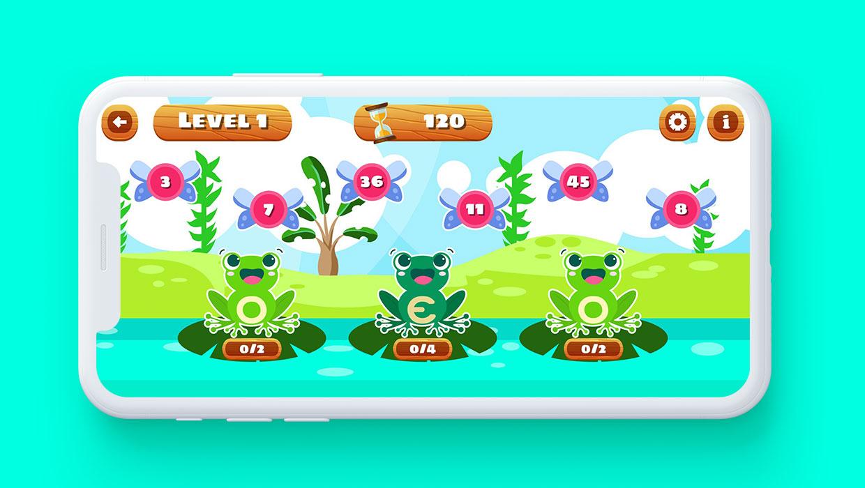 Number Frog Islands