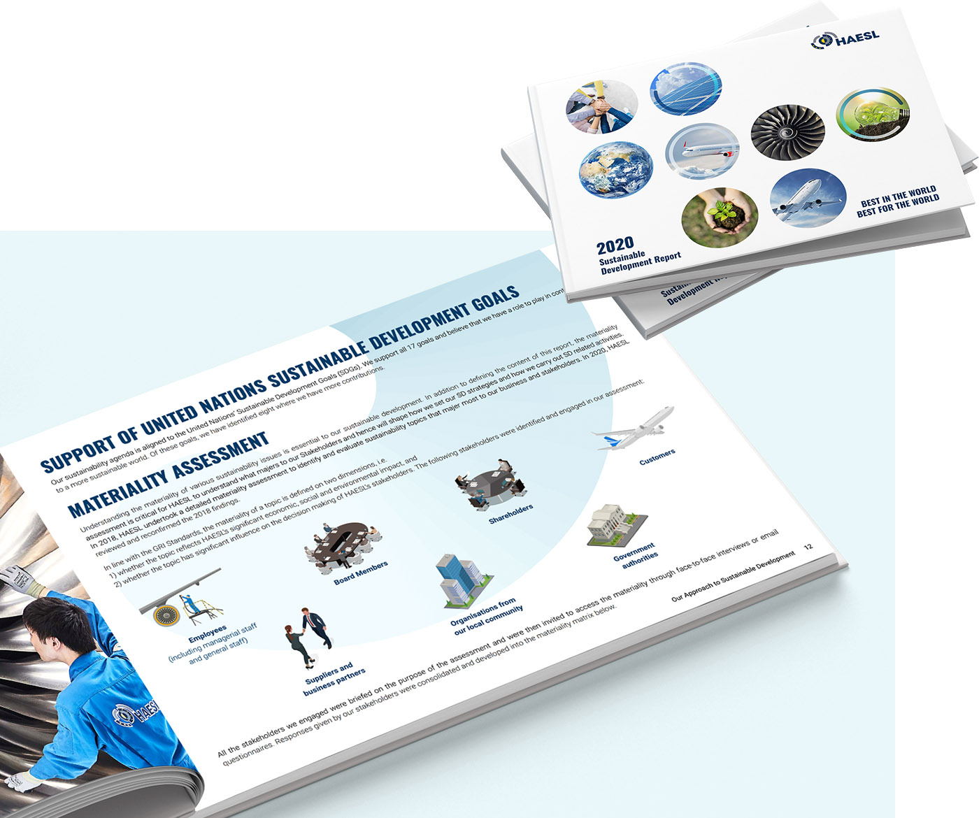Hong Kong Aero Engine Services Limited (HAESL) 2020